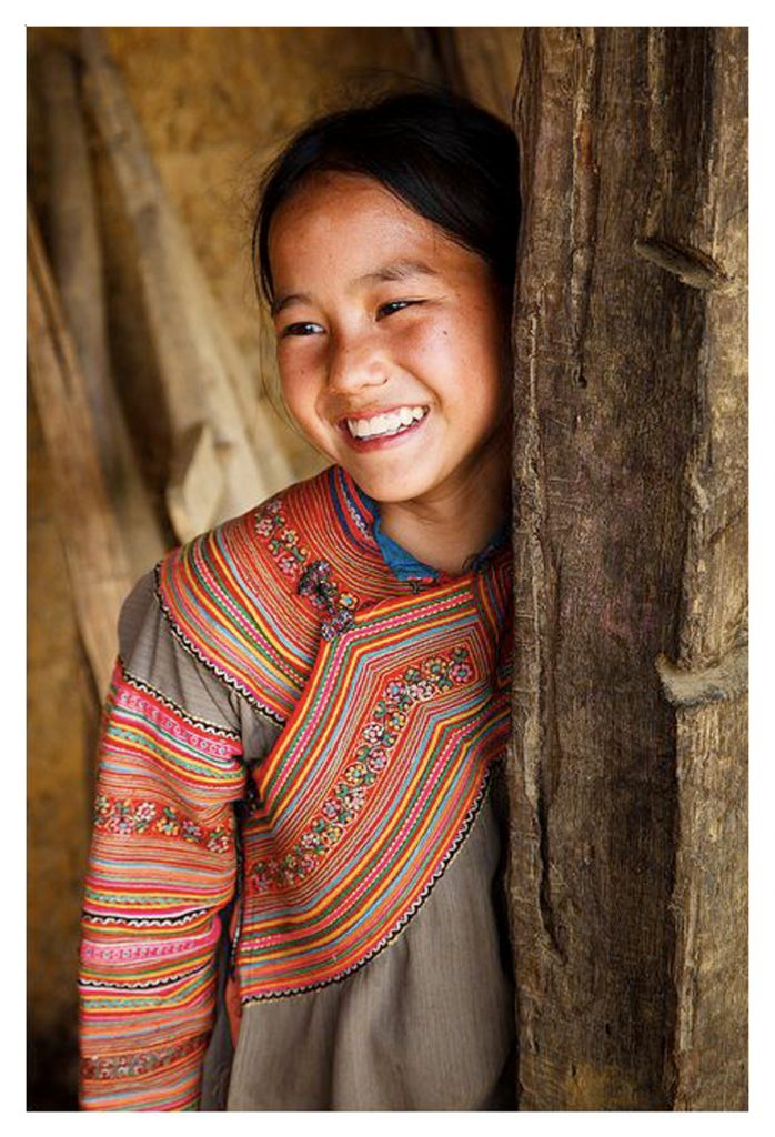 Hmong Hill Tribe Girl