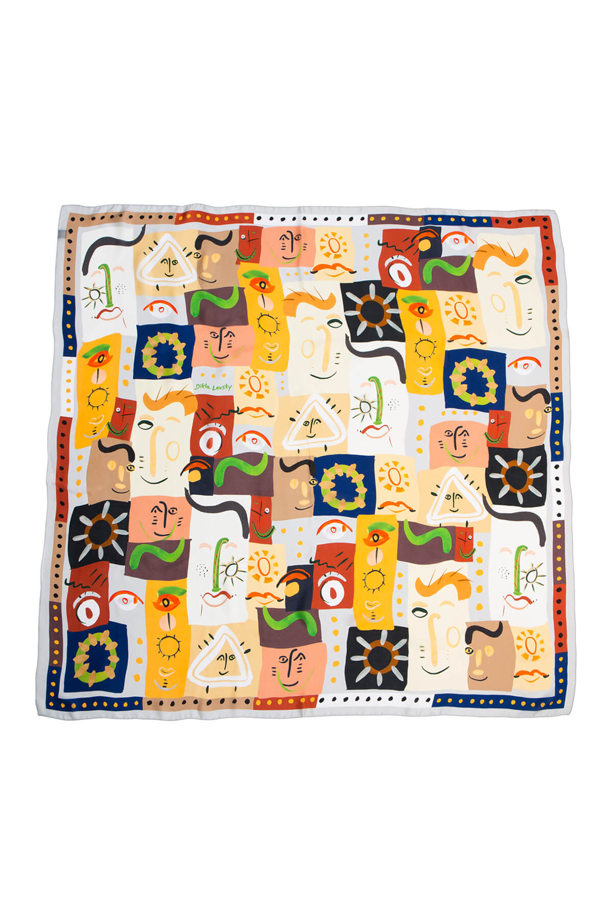 New Woogie Large Square Scarf